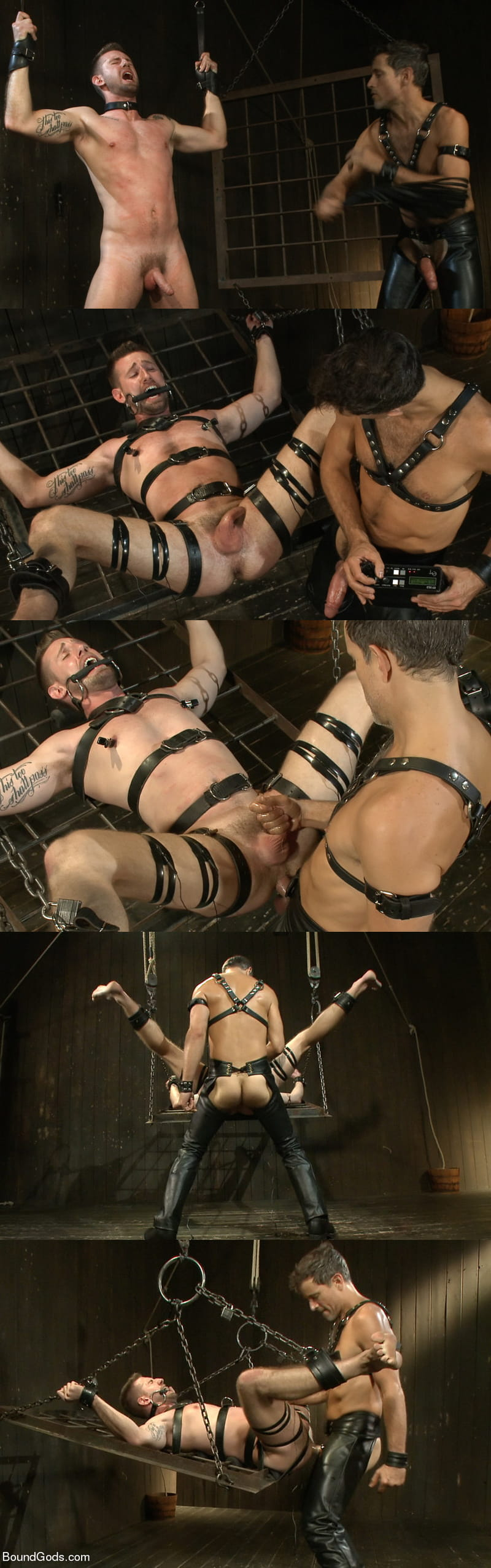 Master Avery torments and fucks his boy